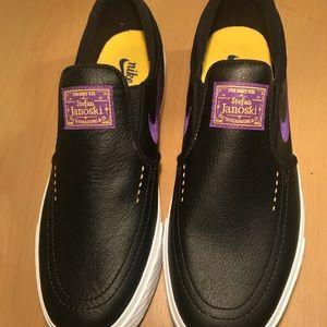 Nike Shoes - Nike SB Stefan Janoski NBA LA Lakers 9.5